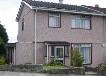 Thumbnail 3 bed semi-detached house to rent in Saltburn Road, Plymouth