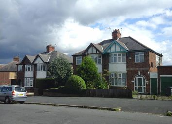 Thumbnail 3 bed semi-detached house for sale in Sandhurst Road, Leicester