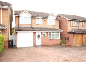 Thumbnail 5 bed detached house for sale in Snowdon Way, Willenhall