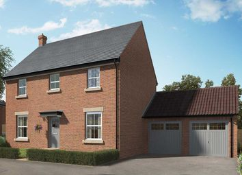 "Thumbnail 4 bed detached house for sale in ""The Casterton"" at Hill Top Close, Market Harborough"
