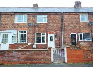 Thumbnail 2 bed terraced house for sale in Paper Mill Road, Rawcliffe Bridge, Goole