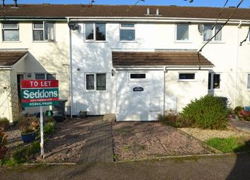 Thumbnail 3 bedroom terraced house to rent in Rosewell Close, Honiton