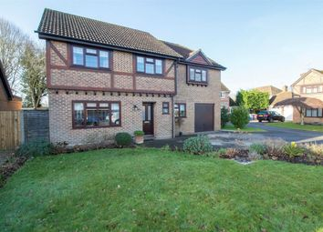 Thumbnail 5 bed detached house for sale in Hawkins Grove, Church Crookham, Fleet