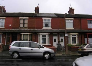Thumbnail 2 bed terraced house to rent in Cecil Road, Wallasey, Wirral