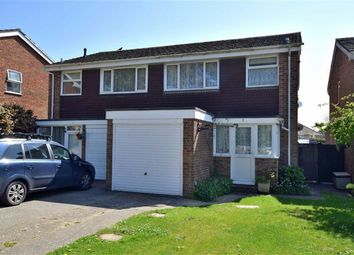 Thumbnail 3 bedroom semi-detached house for sale in Pleasance Way, New Milton