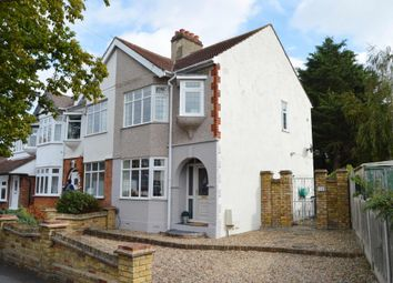 Thumbnail 3 bed end terrace house for sale in Vicarage Road, Hornchurch