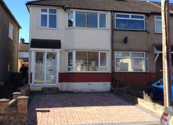 Thumbnail 3 bed semi-detached house to rent in Mayfair Road, Dartford