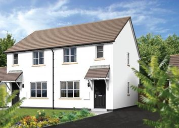 Thumbnail 3 bed semi-detached house for sale in Dobwalls, Liskeard, Cornwall