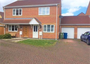 Thumbnail 2 bed semi-detached house for sale in Ladymeers Road, Cherry Willingham, Lincoln