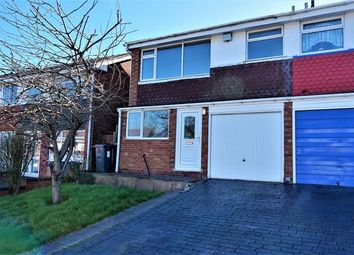 Thumbnail 3 bed semi-detached house for sale in Ambleside, Bartley Green, Birmingham
