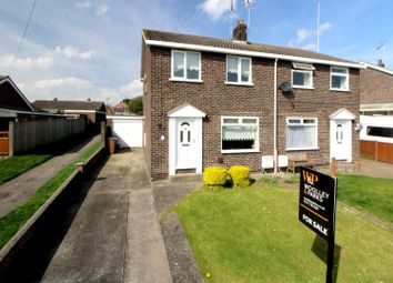 Thumbnail 2 bedroom semi-detached house for sale in Cherry Way, Nafferton, Driffield