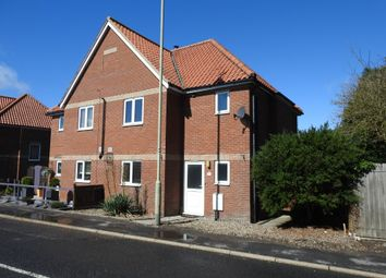Thumbnail 3 bed semi-detached house for sale in Abbey Road, Leiston, Suffolk