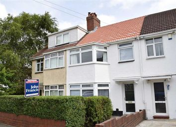 Thumbnail 3 bed terraced house for sale in Ael-Y-Bryn Road, Fforestfach, Swansea