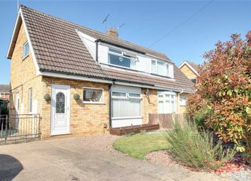 Thumbnail 3 bed semi-detached house for sale in Walnut Close, Waddington, Lincoln