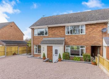 Thumbnail 3 bed semi-detached house for sale in Flaxman Close, Barlaston, Stoke On Trent, Staffs