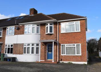 Thumbnail 4 bed end terrace house for sale in Longford Close, Hampton Hill, Hampton