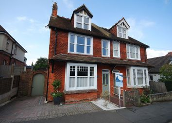 Thumbnail 4 bed semi-detached house for sale in Brockhill Road, Hythe