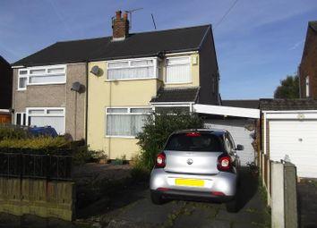 Thumbnail 3 bed semi-detached house for sale in Amanda Road, Rainhill, Prescot