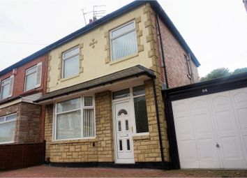 Thumbnail 3 bed semi-detached house for sale in Horsley Hill Road, South Shields