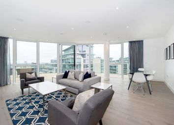 Thumbnail 3 bed flat to rent in The Pinnacle, Battersea Reach