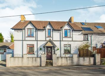 Thumbnail 4 bedroom farmhouse for sale in Tregwilym Road, Rogerstone, Newport
