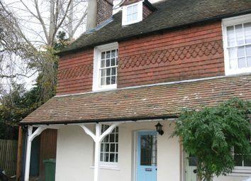 Thumbnail 3 bed end terrace house to rent in Maidstone Road, Pembury, Tunbridge Wells