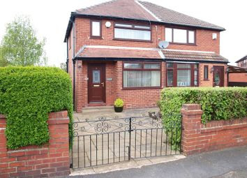 Thumbnail 2 bed semi-detached house for sale in 6 Heatley Road, Firgrove, Rochdale