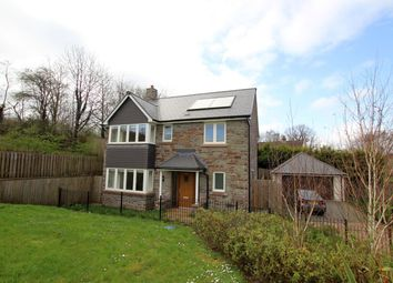 Thumbnail 4 bed detached house to rent in St Davids Park, Llanfaes, Brecon