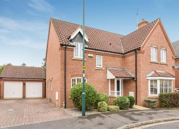 Thumbnail 4 bed detached house for sale in Tern Road, Hampton Hargate, Peterborough