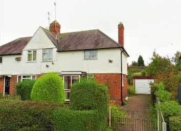 Thumbnail 3 bed semi-detached house for sale in The Avenue, Glenfield, Leicester