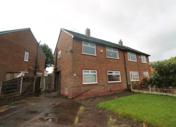 Thumbnail 3 bed semi-detached house for sale in Roedean Gardens, Urmston, Manchester