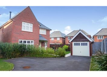 Thumbnail 4 bed detached house for sale in Bron Gwynedd, Bangor