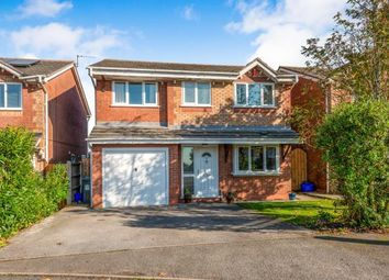 Thumbnail 4 bed detached house for sale in Friesian Gardens, Newcastle, Staffordshire