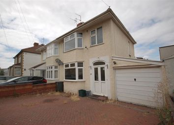 Thumbnail 3 bed semi-detached house to rent in Douglas Road, Kingswood, Bristol