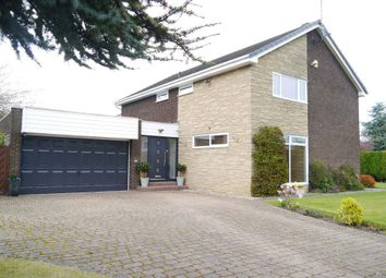 Thumbnail 4 bed detached house for sale in Hadrian Court, Ponteland, Newcastle Upon Tyne
