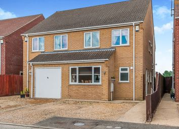 Thumbnail 3 bed semi-detached house for sale in Yokine Gardens, Guyhirn, Wisbech