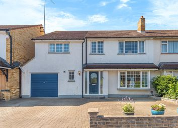 Thumbnail 5 bed semi-detached house for sale in Oakfield Avenue, Hitchin