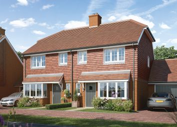 Thumbnail 3 bed semi-detached house for sale in New Road, Hailsham