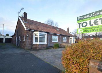 Thumbnail Semi-detached bungalow to rent in Claremont Road, Accrington