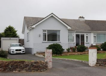 Thumbnail 3 bed semi-detached bungalow for sale in Stafford Close, Newquay
