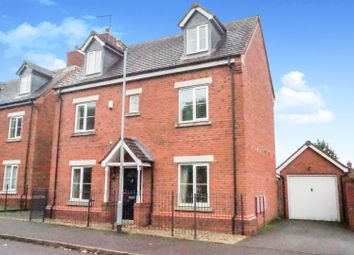 Thumbnail 4 bed detached house for sale in Nightjar Way, Heath Hayes, Cannock