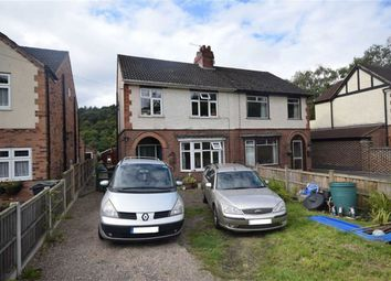 Thumbnail 3 bed semi-detached house for sale in Canal Side, Matlock Road, Ambergate, Belper