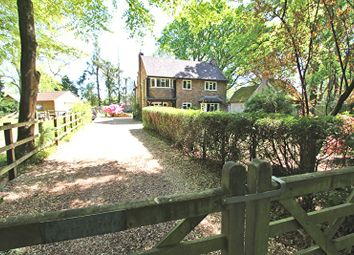Thumbnail 4 bed detached house for sale in Holmsley Road, Wootton, New Milton