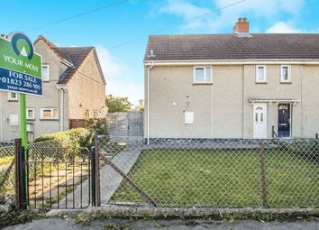 Thumbnail 2 bed semi-detached house for sale in Musgrove Road, Taunton