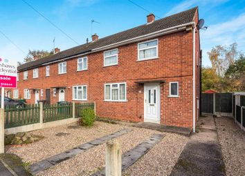 Thumbnail 2 bed end terrace house for sale in New Road, Hilton, Derby