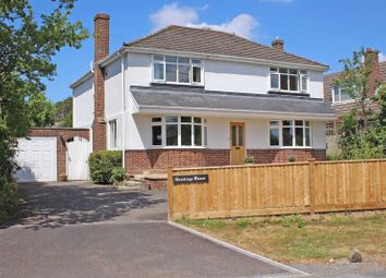 Thumbnail 4 bed detached house for sale in Kingsmead, Lower Common Road, West Wellow, Romsey