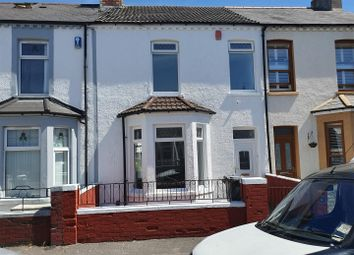 Thumbnail 3 bed terraced house for sale in Cambridge Street, Grangetown, Cardiff