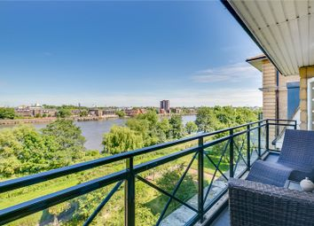 Thumbnail 3 bed flat to rent in Holst Mansions, 96 Wyatt Drive, Barnes Waterside, London