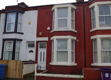 Thumbnail 4 bedroom terraced house for sale in Ash Grove, Wavertree, Liverpool