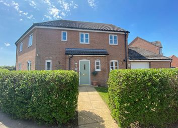 Thumbnail 4 bed link-detached house for sale in Fendley Close, Watlington, King's Lynn